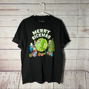 Other - Merry Rickmas Rick & Morty Christmas Graphic Shirt